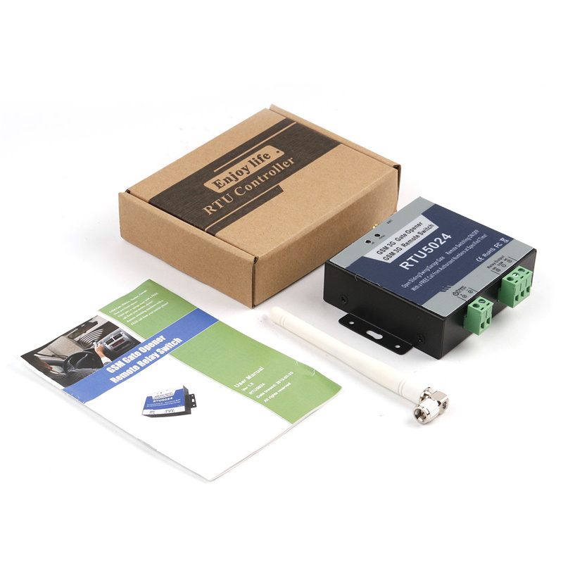 Remote Switch Access Control GSM Door Switch RTU5024 GSM Wireless Door Garage Sliding Door Opener Supported By Free App