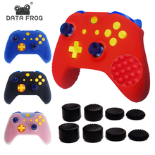 Data Frog Sweatproof Silicone Protective Case for X1 Slim Controller Gel Rubber Silicone Skin for Microsoft Xbox 1 Gamepad