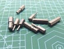 Neue 10PCS Metric Hex Schraubendreher-bits L25mm H1.5 H2 H2.5 H3 H4 H5 H6 H7 H8 Magnetische S2 Stahl 1/4