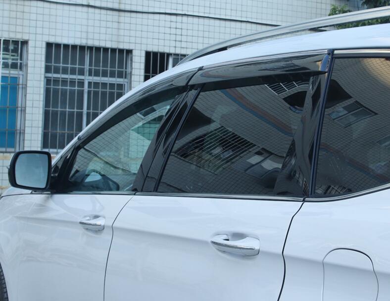 Image 4 - for Ford New Mondeo Rain Shield Special Window Rain Eyebrow Gear 13 18 Rain Shield Bar Decorative Accessories