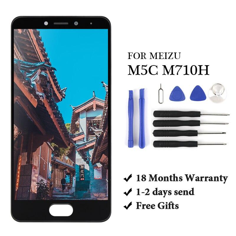 Купить жк дисплей с/без рамки для meizu meilan m5c a5 m710h сенсорный
