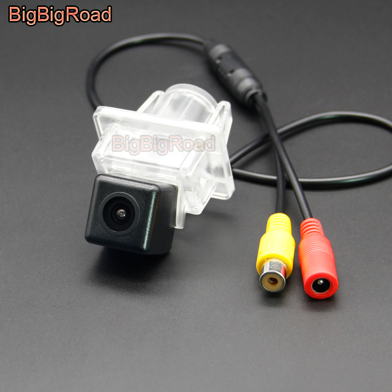 BigBigRoad Wireless Car Rear View CCD Camera For Mercedes <font><b>Benz</b></font> GLK Class 200 260 ML <font><b>SLK</b></font> SLC Class W176 W221 W213 W216 W166 <font><b>R172</b></font> image