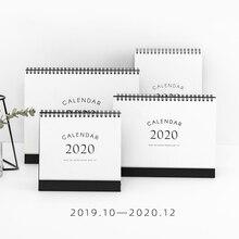 JIANWU, 1 шт., простой стиль,,, календари, настольный календарь, офисная работа, График обучения, милый, ежедневник, Канцтовары