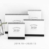 JIANWU, 1 шт., простой стиль, 2019, 2020, календари, настольный календарь, офисная работа, График обучения, милый, ежедневник, Канцтовары
