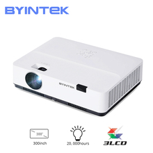 BYINTEK K400 Japan 3LCD Full HD 1080P 4K lEd Video Smart Projector for 300inch Cinema Education(Optional Android 10 TV Box)