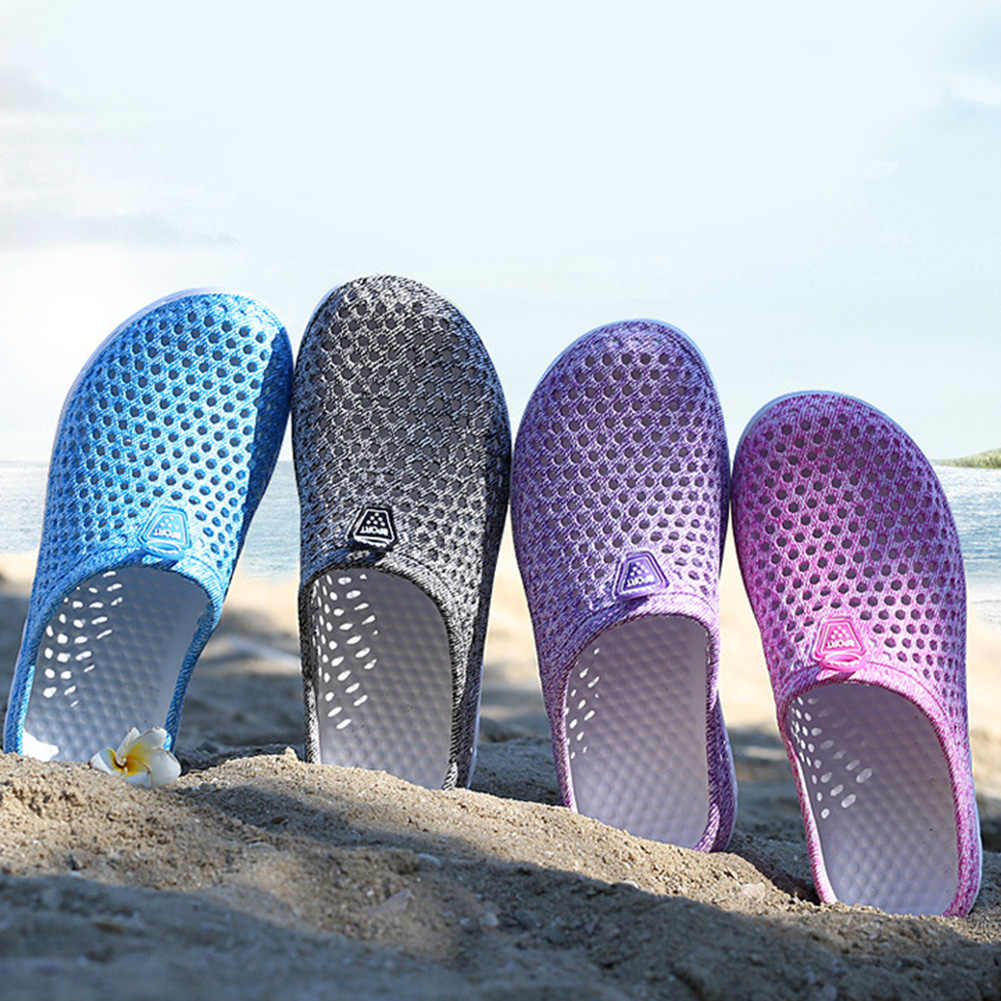 نعال نسائية للشاطئ نعال هلامية صيفية للمنزل داخلي نعال مسطحة للبنات أحذية نسائية صنادل مانعة للانزلاق #734