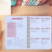 Árvores 2021 a5 agenda planejador semanal diário caderno weely metas hábitos horários artigos de papelaria material escolar de escritório