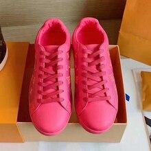 19 топ класса люкс, брендовая разноцветная прозрачная обувь с вышивкой для пары, для мужчин и женщин, Спортивная повседневная обувь с низким вырезом Женская обувь