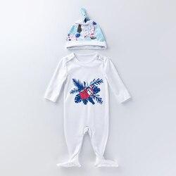 Reborn bébé poupées accessoires dessin animé imprimé combinaisons vêtements pour 22-23 pouces poupées pour enfants jouets cadeau d'anniversaire-paresseux