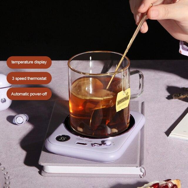 Cup Warmer for Coffee, Milk, Tea | F R E E  2