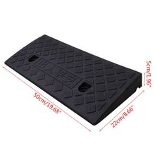 Car Access Ramp Triangle Pad Speed Reducer Durable Threshold for Automobile Motorcycle Heavy Wheelchair Duty Rubber Wholesale