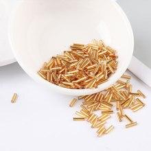 2 millimetri 4 millimetri 6 millimetri Seedbeads Argento Nucleo Repubblica perle di Vetro Seed Beads Bugle Per Croce Punti Monili Che Fanno Indumento accessori FAI DA TE 20g