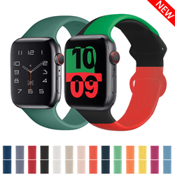 Strap for Apple Watch Band Apple 38mm 42mm Iwatch Accessories Watch Sport Serie 3 4 5 SE 6 40mm 44mm Wristband Watchbands
