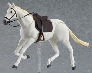 Image 3 - Polaris Hilda Hiruda pvc action white horse Model toy 1/12