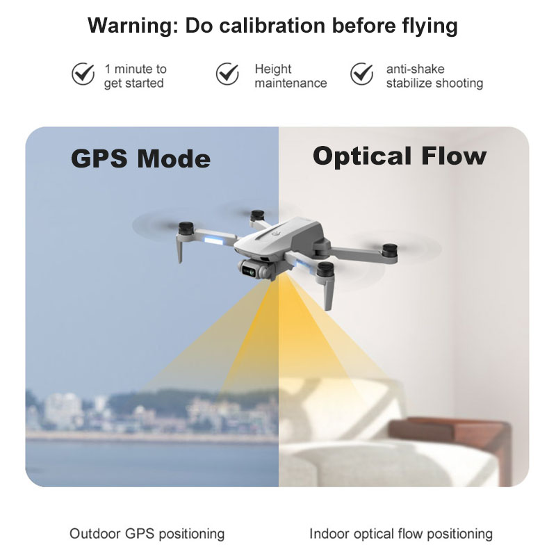 GPS Drone 4K Professional with Dual Camera 5Km Long Distance Brushless 30mins 5G WiFi FPV Foldable Quadcopter Dron PK SG906 6
