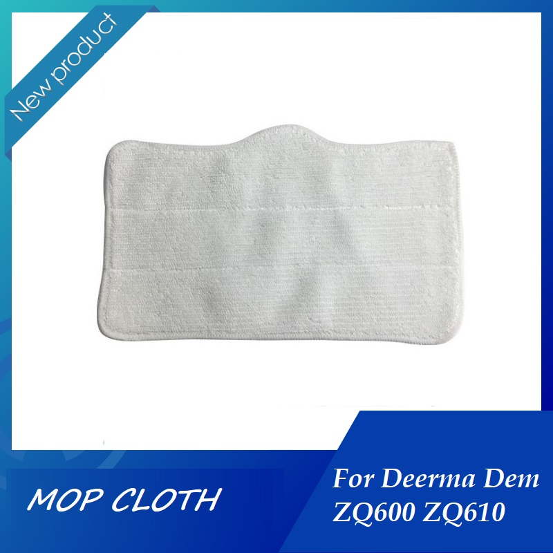Mop Cloth Cleaning Pads For Xiaomi Deerma DEM ZQ600 ZQ610 Handhold Steam Vacuum Cleaner Cleaner Mop Replacement Accessory