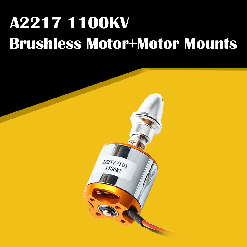 New Multi Quadcopter A2217 <font><b>2217</b></font> 1100KV RC Brushless Outrunner Motor for 4 Axis RC Fixed Wing Plane Helicopter image