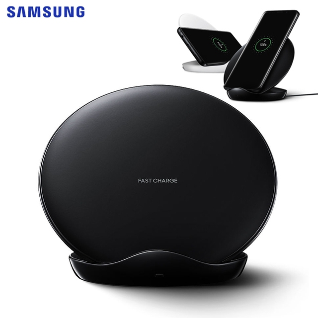 Samsung Originele Snelle Draadloze Oplader Opladen Pad Voor Samsung Galaxy S9 Plus S10 + N9600 IPhone8 S7 Rand S8 G955F note 8 Note 9
