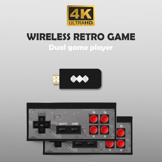 Y2 Ретро игровая консоль Поддержка 2 плееров HDMI HD встроенный 568 классические видеоигры USB ручной инфракрасный Ретро Геймпад контроллер