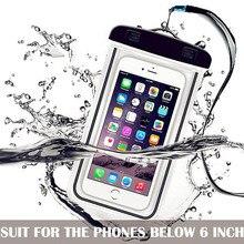 Waterproof Phone Bag Drift Diving Swimming Bag Underwater Dr