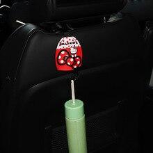1PC Car Seat Hook Kitty Cat Cartoon Seat Back Hook Multi-Functional Hidden Potho