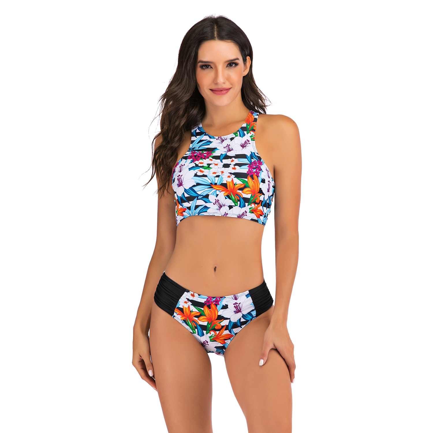 Sexy Bikinis Plus size Swimwear Women Mirco bikini 2020 mujer Two Piece Swimsuit swimming suit Beach Sport Swimsuit Set May 3