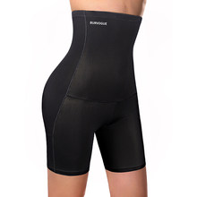 Burvogue Hoge Taille Tummy Controle Slipje Afslanken Taille Trainer Butt Lifter Shapewear Naadloze Sexy Ondergoed Body Shaper Panty(China)