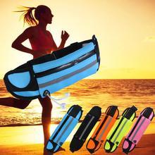 2020 new Waist Bag Belt Bag Running Waist Bag Sports Portable Gym Bag Hold Water Cycling Phone bag Waterproof Women running belt