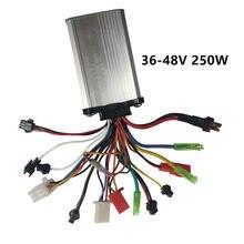 36V 48V 250W ebike kontroler elektryczny skuter bezszczotkowy kontroler z PAS dla rower elektryczny/silnik piasty/silnik bldc