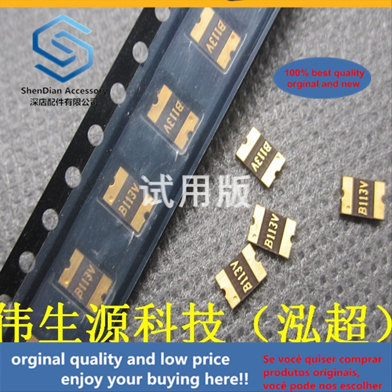50pcs 100% Orginal New Best Quality Main 1812 SMD Chip Resettable Fuse 1A 8V 1.1A MF-MSMF110-2 Printed 11xx
