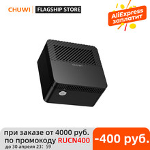 CHUWI – Mini PC LarkBox 4K le plus petit du monde, processeur Intel Celeron J4115, windows 10, Quad core, 6 go de RAM, 128 go de mémoire EMMC