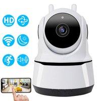 HD 1080P telecamera IP WiFi interna telecamera di sorveglianza di sicurezza domestica intelligente CCTV PTZ 360 Pet Baby Monitor rilevazione di movimento videocamera