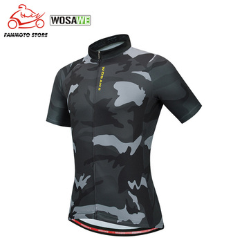 WOSAWE Cycling Jersey Man Mountain Bike Motorcycle Quick-Dry Racing MTB Bicycle Clothes Uniform Breathale Cycling Clothing Wear недорого