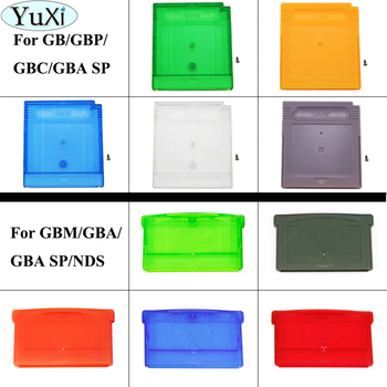 YuXi Replacement For GBA SP Game Cartridge Housing Shell For GBM GB GBC GBP for NDS Card Case yuxi lcd screen protector protective film for gameboy advance color pocker for gba gba sp gbc gb gbp for gbm console