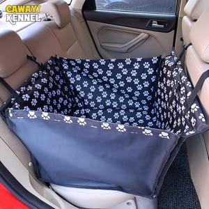 Image 4 - CAWAYI Chó Giống Chống Nước Thú Cưng Tàu Sân Bay Chó Ghế Thảm Võng Đệm Mang Cho Chó Transportin Perro Autostoel Hond