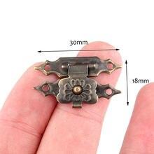 12 шт 30*18 мм шкатулка для драгоценностей Защёлки защелка маленькую