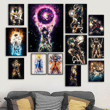 5D DIY diament malarstwo Dragon Ball Super Anime Manga i Saiyan syn Goku Vegeta Jiren diament haft Cross Stitch JS5651(China)
