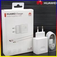 HuaWei-cargador de viaje de carga rápida, adaptador de corriente Usb C, 40W, Max, Original, 5A, compatible con Mate X2, 40, 30 Pro, 20, Nova 8