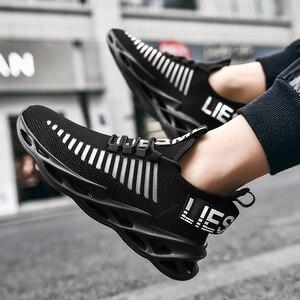 Image 5 - النساء أحذية رياضية 2020 موضة جديدة الرجال زوجين احذية الجري خفيفة الوزن شفرة أحذية في الهواء الطلق أحذية رياضية غير رسمية سهلة المشي 2020