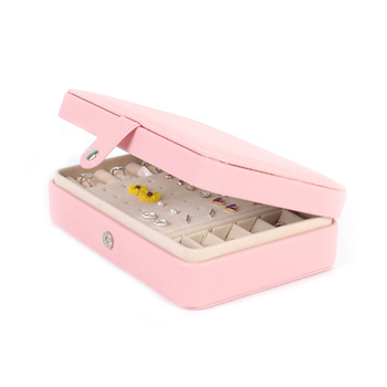 Jewelry Box Mirrored Jewelry Casket Large Capacity Makeup Storage Earring Holder Makeup Organizer Gift Boxes