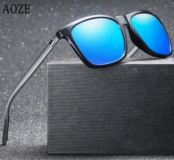 Brand fashion Unisex Retro Aluminum+TR90 Sunglasses Polarized Lens Vintage Eyewear Accessories Sun Glasses For Men/Women UV400
