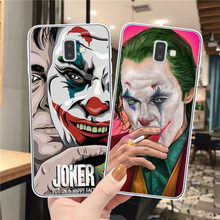 Joker 2019 Horror Movie Put On A Happy Face Soft TPU Case for Samsung J3 J5 J7 2016 2017 J4 J6 Plus 2018 Note 10 Pro Clear Cover(China)