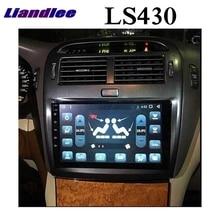 Liandlee Car Multimedia Player For Lexus LS LS430 XF30 For Toyota Celsior 2000~2006 NAVI CarPlay Radio IPS 9 Inch GPS Navigation