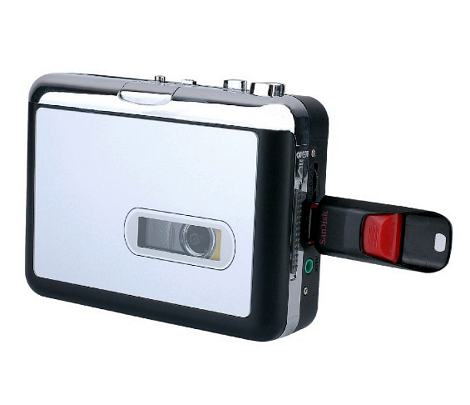 REDAMIGO Cassette Player USB Walkman USB cassette capture to MP3 USB Cassette Capture TapeUSB Cassette to MP3 Converter CRP231