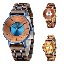 Luxury Wood Stainless Steel Men Watch Stylish Wooden Timepieces Chronograph Quartz Watches relogio masculino Gift Man dodo deer wood stainless steel watch men water resistant timepieces chronograph quartz watches relogio masculino men s gifts d11