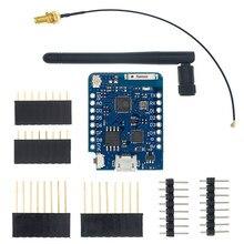 WEMOS D1 Mini Pro 4M 16M octets connecteur d'antenne externe NodeMCU basé ESP8266 ESP-8266EX CP2104 WIFI carte de développement Micro