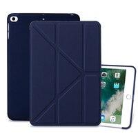 soft tpu Case for iPad mini 4 5 7.9 inch PU leather case cover For iPad mini 4 5 7.9 inch TPU Silicone Atomized Soft Bottom Tablet Case (1)