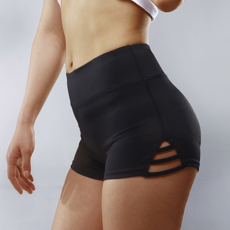 Basic Sports Women's Yoga Shorts Female Fitness Sexy Casual Stretch Wide Leg Shorts  Running Tights
