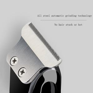 Image 3 - Nul Overlap Professionele Tondeuse Baard Trimer Voor Mannen Auto Usb Elektrische Stoppels Snijder Haar Snijmachine Hair Cut