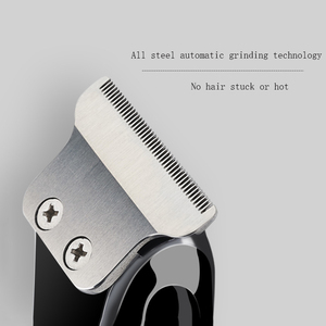 Image 3 - Zero overlap professional hair trimmer beard trimer for men car USB electric stubble cutter hair cutting machine hair cut